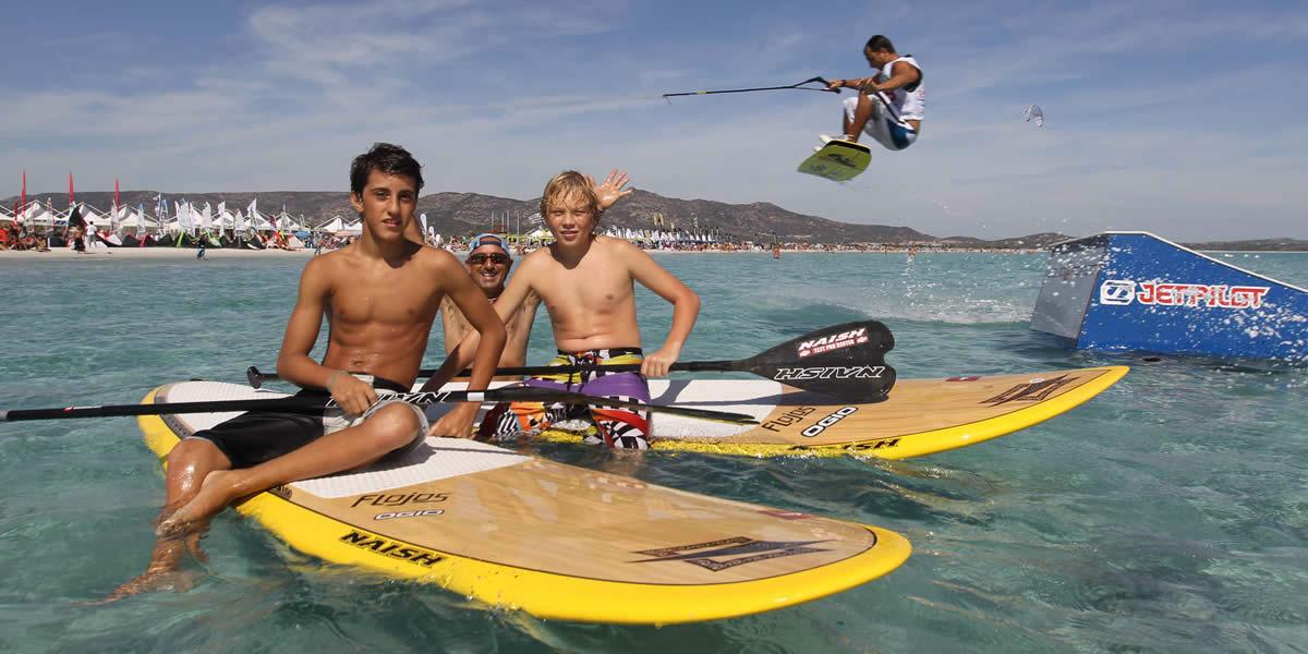 Beach Activities Lu Nibareddu