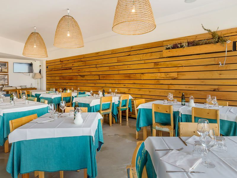 Restaurant am meer La Tavernetta Lu Nibareddu