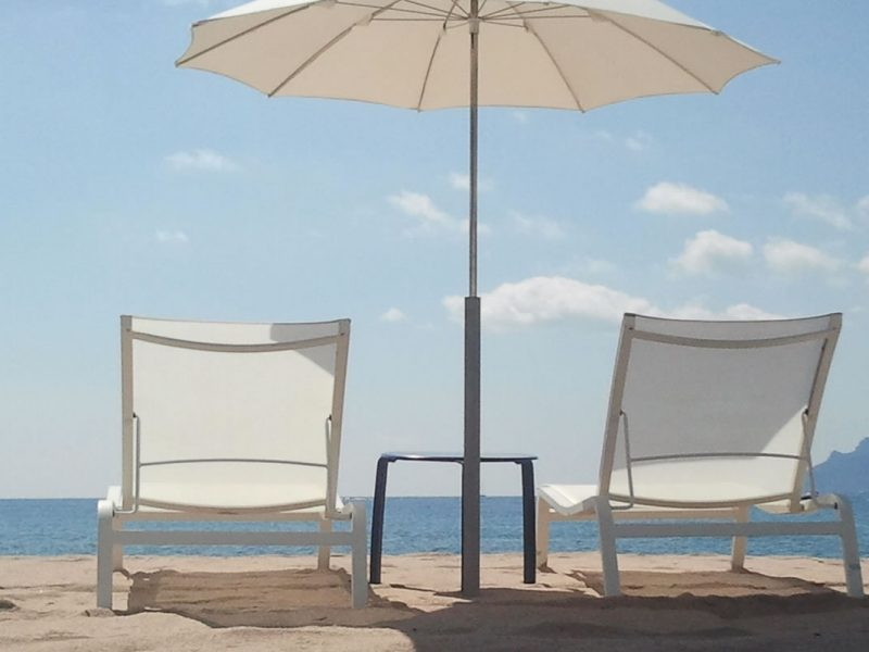 Servizio spiaggia gratis Lu Nibareddu