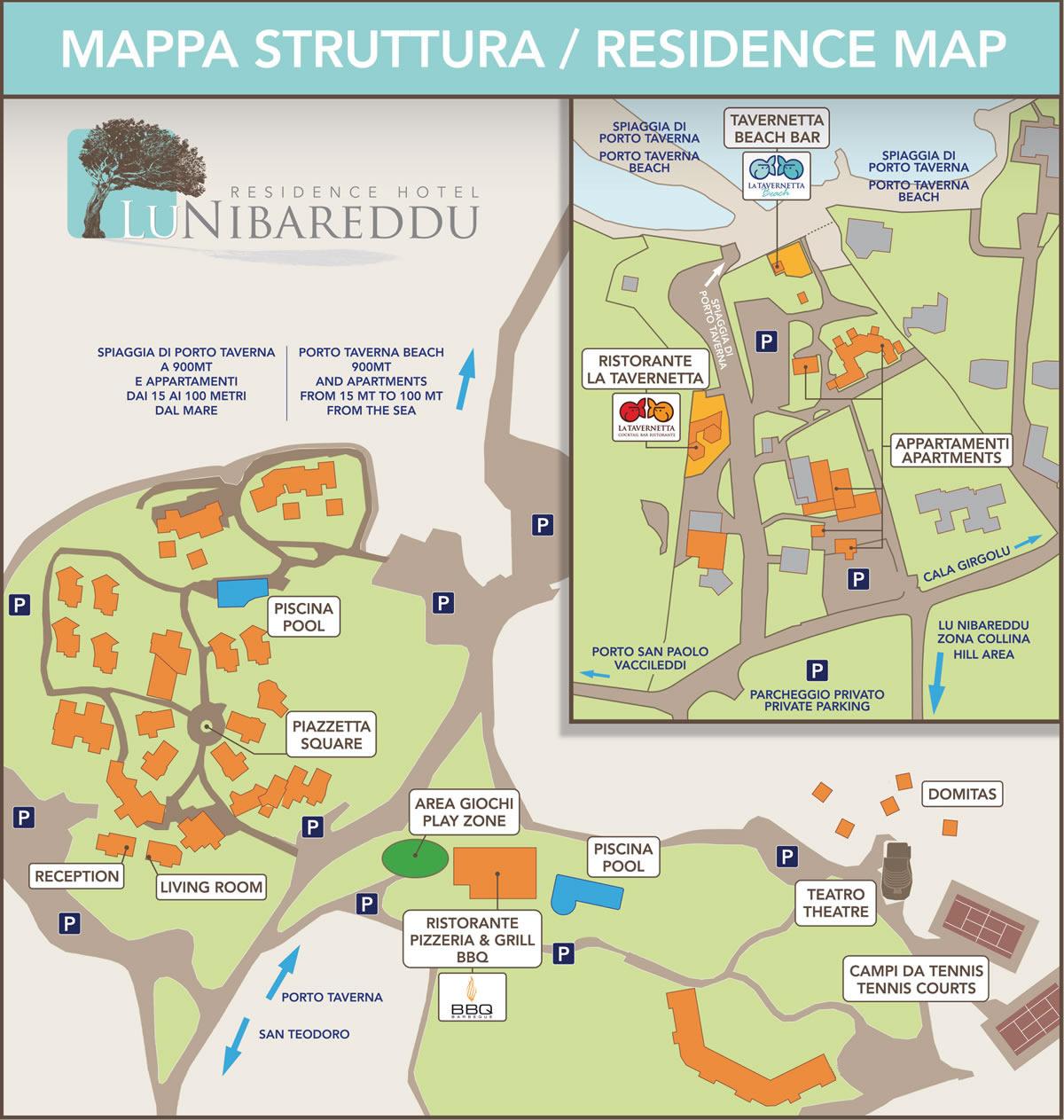 Valledoria Sardegna Cartina